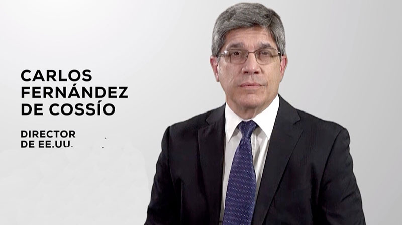 Esta noche, comparecencia de Carlos Fernández de Cossío, director general de Estados Unidos del MINREX