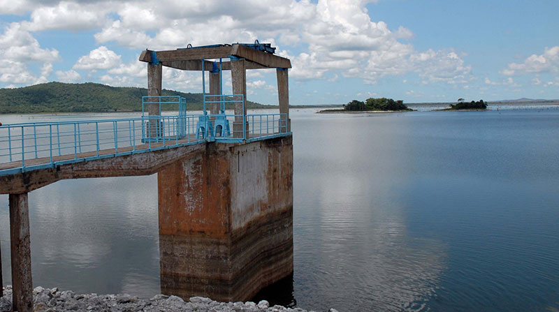 Les réservoirs de Camagüey ont un peu plus de la moitié de leur capacité