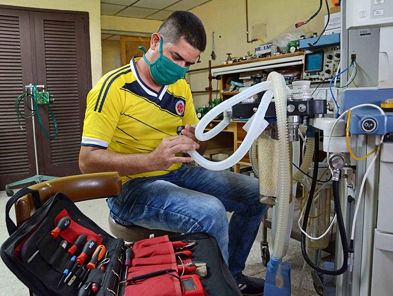 Centro de Electromedicina en Camagüey asegura vitalidad de equipos médicos (+Fotos)