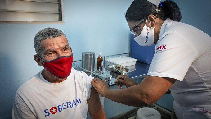 Díaz-Canel alerta sobre la `pandemia de la COVID-19. Vacuna Soberana 02