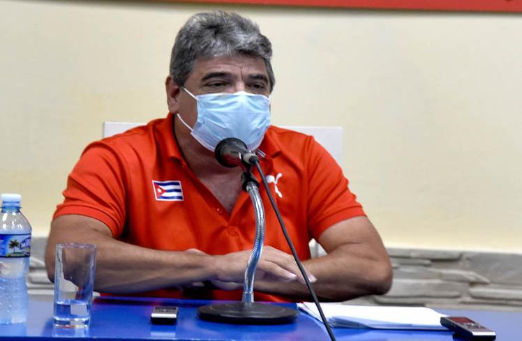 Ernesto Reinoso. Comisionado Nacional de Béisbol