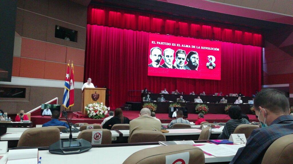 Refrenda 8vo. Congreso del Partido Comunista de Cuba unidad de la Revolución