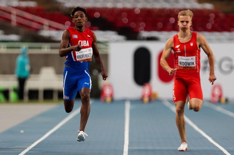 CubanShainerRengifo advances to semifinals at World Youth Athletics Championships