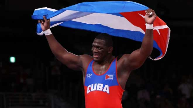 Gladiador Mijaín López concretó cuarta corona olímpica en Tokio 2020