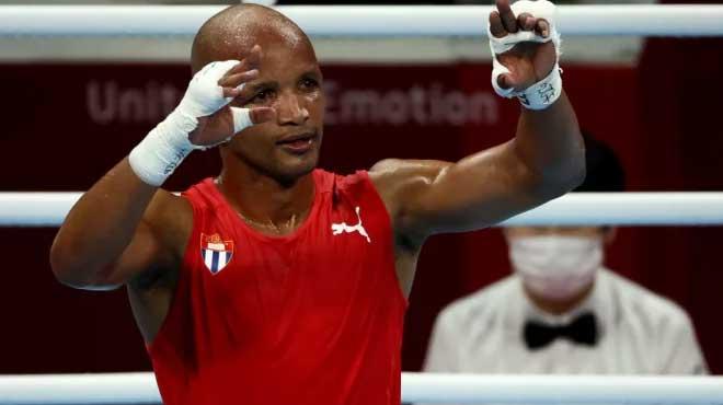 Welter Roniel Iglesias da el primer título al boxeo cubano en Tokio 2020