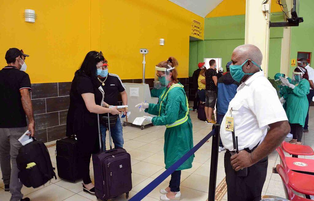 Cumple aeropuerto Ignacio Agramonte de Camagüey con protocolos de control sanitario
