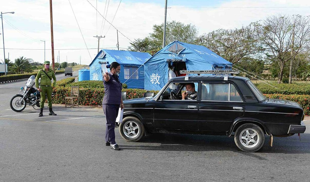 Camagüey activa puntos de control sanitario y limita acceso a la ciudad