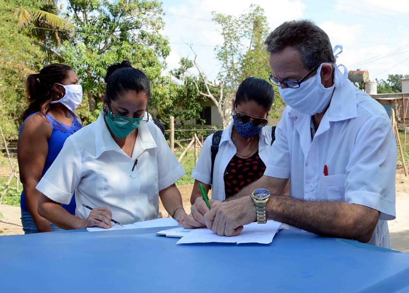 Incrementan pesquisa activa en zonas de vigilancia reforzada por Covid-19 en Camagüey