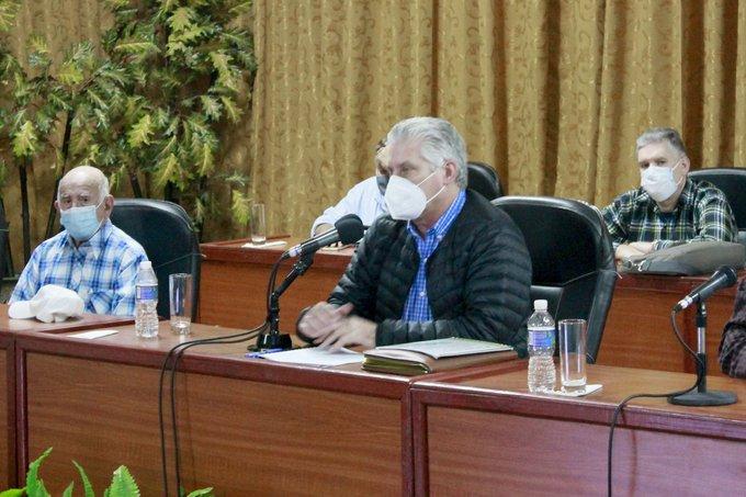 Con inteligencia y compromiso, Cuba logrará salir adelante; afirma Díaz-Canel