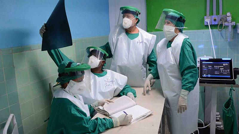 Hospital Militar de Camagüey ha atendido a más de mil pacientes asociados a la Covid-19