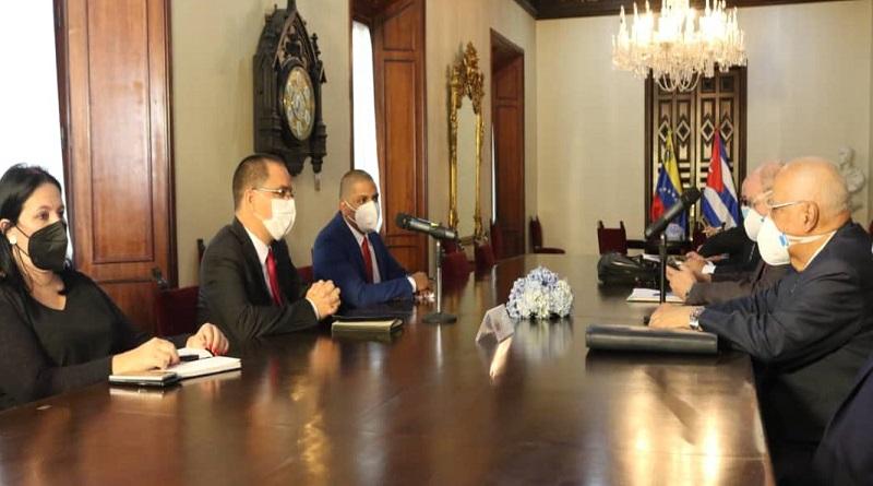 La amistad entre Cuba y Venezuela seguirá profundizándose, afirma canciller Jorge Arreaza