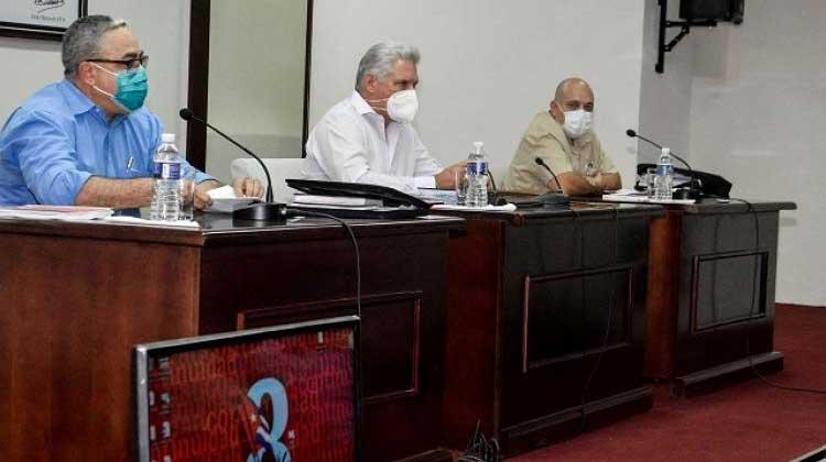 Díaz-Canel evalúa en La Habana papel del Partido Comunista de Cuba (+ Foto)