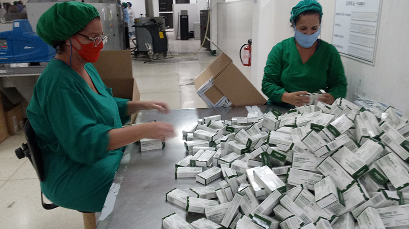 Cuba gradually resumes production of oral antibiotics