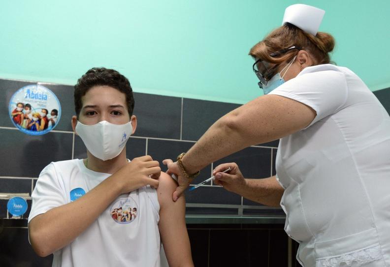 Comenzó hoy en Camagüey estudio de intervención pediátrica con vacuna Abdala (+ Fotos y Audio)