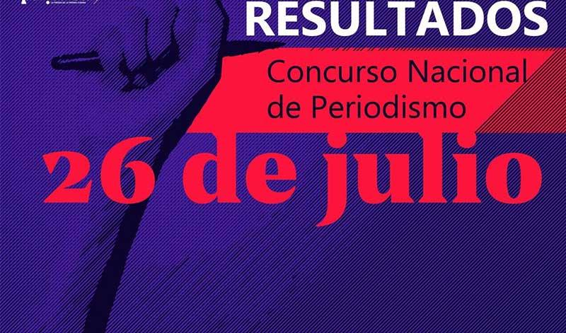Dos camagüeyanos galardonados en concurso de periodismo 26 de Julio (+ Audio)
