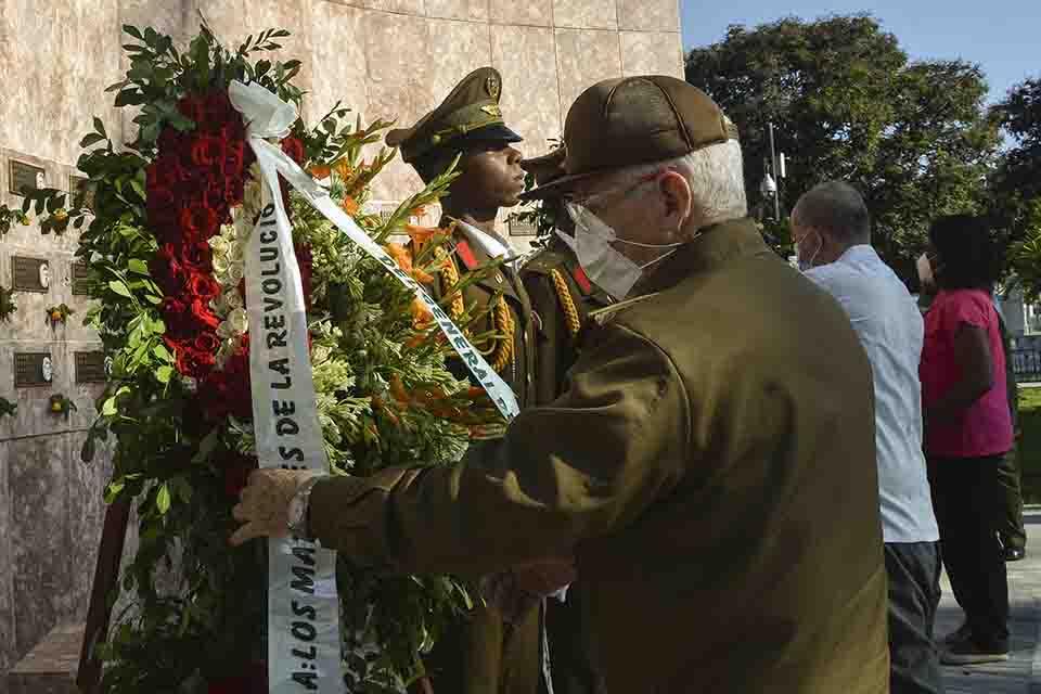 Cuba rinde tributo a los mártires de la Revolución (+ Fotos)
