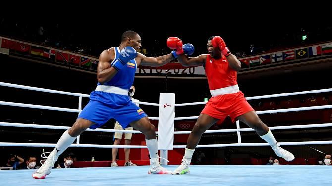 Obtiene Dainier Peró quinta victoria del boxeo cubano en Tokio 2020