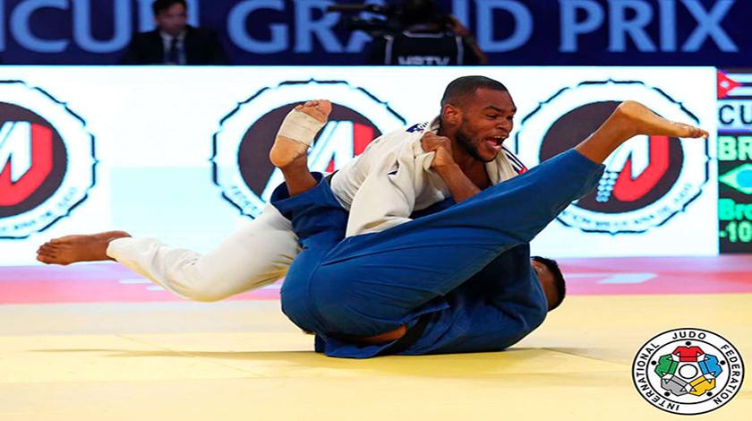 Judoca cubano Andy Granda