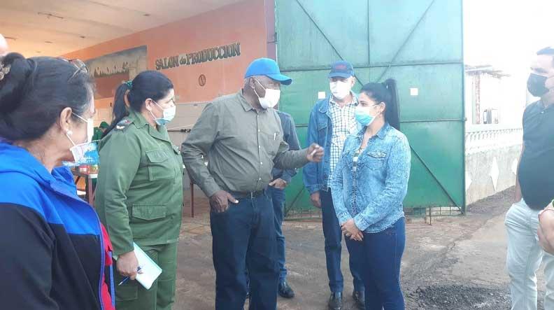 Salvador Valdés Mesa, Vicepresidente de la República, encabeza hoy una visita de trabajo a la provincia de Artemisa, con el objetivo de constatar la marcha de los programas agropecuarios y el autoabastecimiento local, el 6 de marzo de 2021. ACN FOTO/Wendy GARCIA MARQUETTI