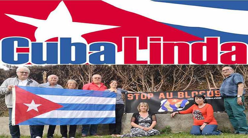 La asociación francesa Cuba Linda destacó hoy la solidaridad de la Isla en tiempos de pandemia de la COVID-19 y reiteró su repudio al bloqueo económico, comercial y financiero que le impone Estados Unidos, informa desde París la agencia de noticias Prensa Latina.