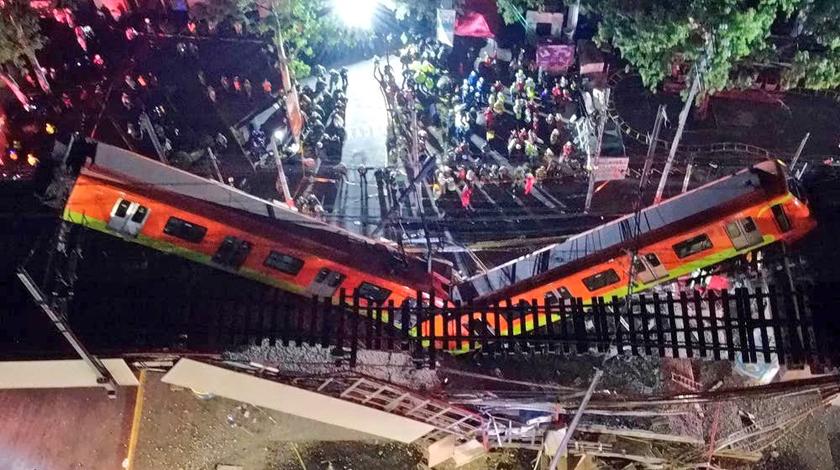 Envía Díaz-Canel condolencias por accidente en el Metro de Ciudad de México