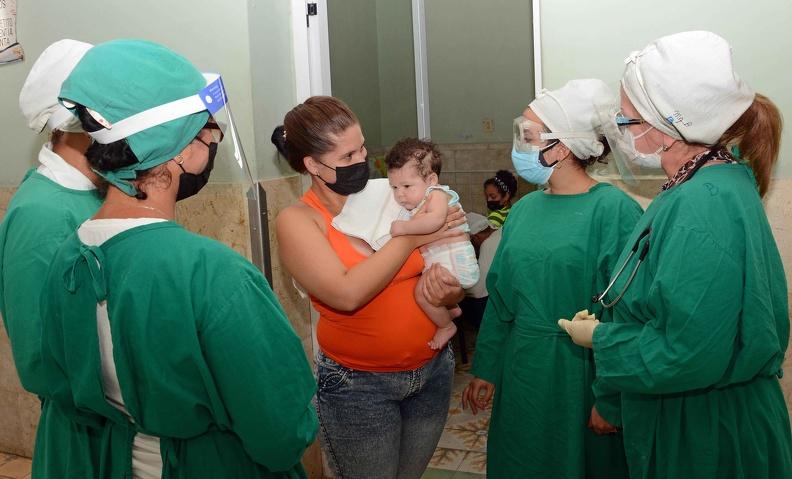 Mantiene vitalidad asistencia médica en Hospital Pediátrico de Camagüey (+ Audio)