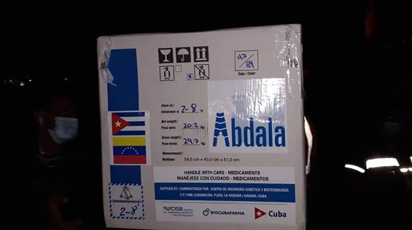 Un lote de 900 mil dosis de la vacuna Abdala de Cuba llegó hoy a Venezuela, donde contribuirá a inmunizar al pueblo de esa nación suramericana contra la Covid-19, informó el Centro de Ingeniería Genética y Biotecnología (CIGB).