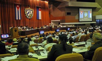 Este 29 de diciembre VIII Legislatura de Asamblea Nacional del Poder Popular de Cuba