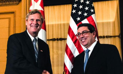Canciller cubano recibió a Secretario de Agricultura de EE.UU.