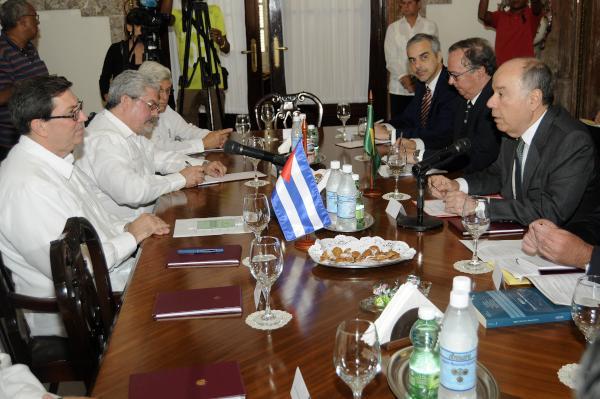 Canciller de Brasil calificó de excelente las relaciones con Cuba