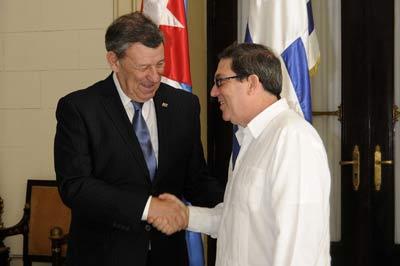 Cuba y Uruguay ratifican interés en fortalecer nexos bilaterales