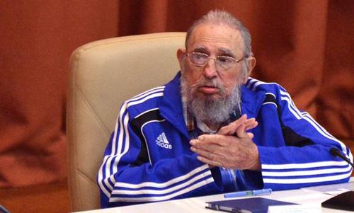 El pueblo cubano vencerá, aseguró Fidel en el 7mo. Congreso del PCC