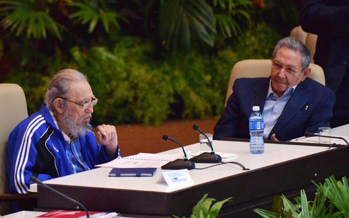 Asistió Fidel Castro a clausura del 7mo.Congreso del PCC