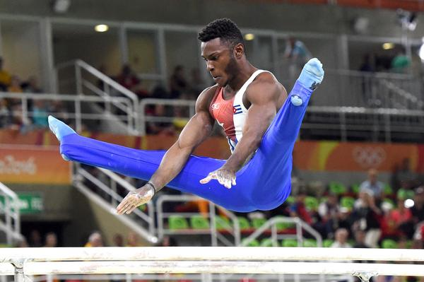 Cuban Gymnast Larduet First in Qualification Round