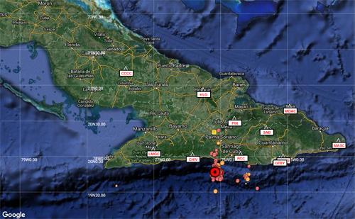 En Santiago de Cuba nuevo sismo perceptible