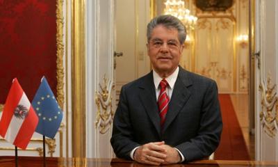 Heinz Fischer ofreció una conferencia magistral en el Aula Magna de la Universidad de La Habana. Foto: Archivo