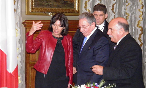 Raul Meets in Paris with Top French Officials