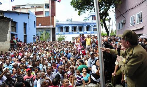 Raúl Castro: Santiago de Cuba es un ejemplo de todo lo que se puede hacer