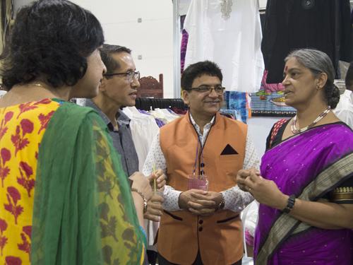 Stand de la India en FIART 2015. Foto: ACN