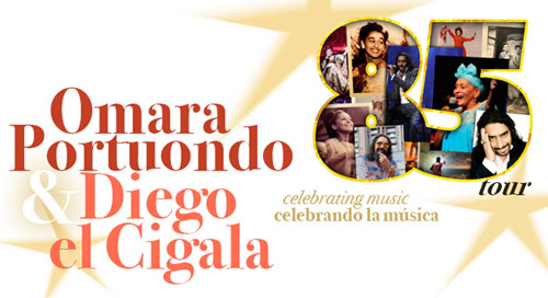 Omara Portuondo and Diego El Cigala to Sing Together in 2016