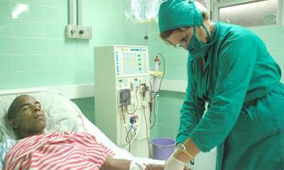 Paciente en hemodiálisis