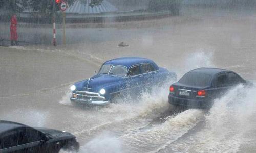 Alertan sobre posibles fuertes e intensas lluvias en el occidente