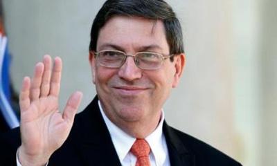 Cuban Foreign Minister visits Venezuela
