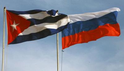 Vicepresidenta de Parlamento cubano recibe a delegación rusa