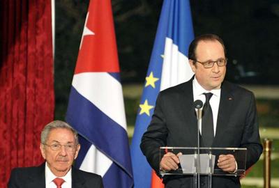 La France réaffirme ses positions pour la fin du blocus contre Cuba