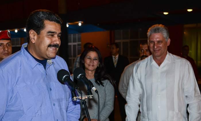 Nicolas Maduro Llega Cuba