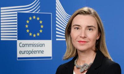 Llega a Cuba Alta Representante de la UE en visita oficial